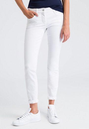 MARC AUREL 5-Pocket-Jeans im White-Denim Look