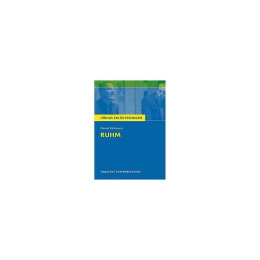 Bange Verlag Daniel Kehlmann 'Ruhm'