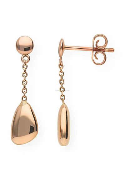 JuwelmaLux Paar Ohrhänger »Ohrhänger Rotgold«