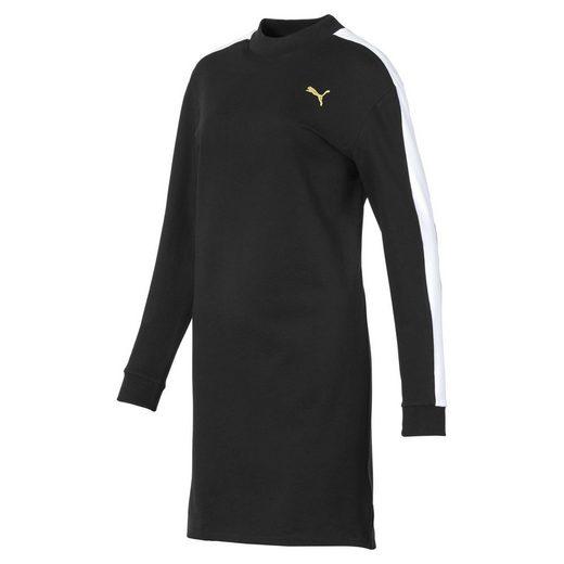 PUMA Sweatkleid »Damen Langärmliges Fleece Kleid«
