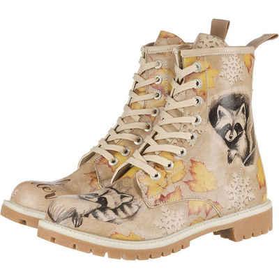 Dogo Shoes »Dogo Boots - Raccoon Schnürstiefel« Winterstiefel