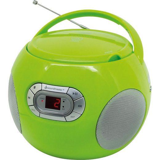 Soundmaster »CD Spieler mit Hörbuchfunktion und UKW-Radio« CD-Player