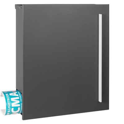 MOCAVI Briefkasten »MOCAVI Box 110 Qualitäts-Briefkasten mit Zeitungsfach grau-eisenglimmer (DB 703)«