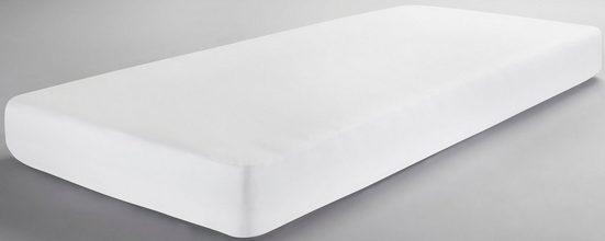 Matratzenschutzbezug »Molton-Spannbettlaken« Dormisette Protect & Care