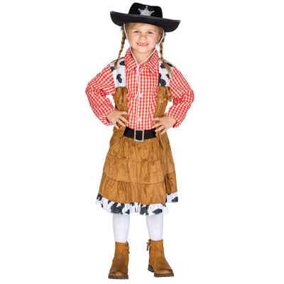tectake Cowboy-Kostüm »Mädchenkostüm Cowgirl Texas«