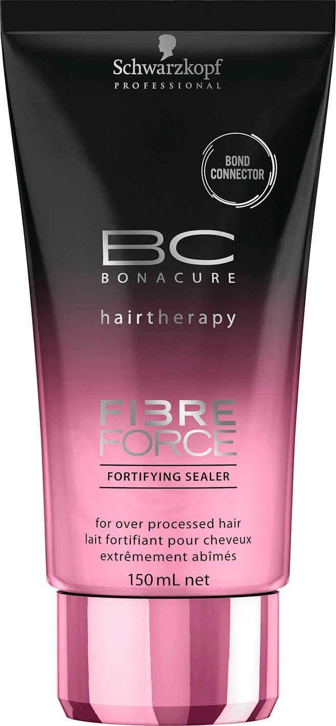 Schwarzkopf Professional Leave-in Pflege »BC Bonacure Fibre Force Fortifying Sealer«, Für übermäßig behandeltes Haar