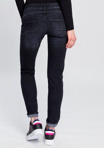 Herrlicher Slim-fit-Jeans »GILA SLIM REUSED« umweltfreundlich dank der ISKO New Technology