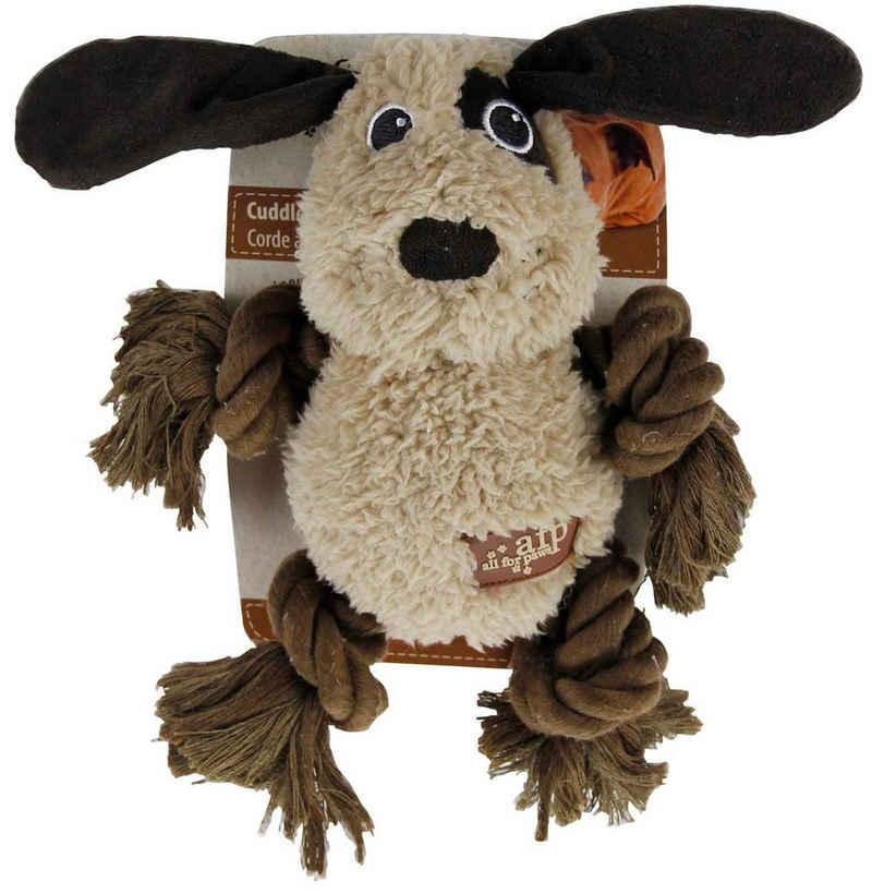 all for paws Tierkuscheltier »Plüschspielzeug für Hunde Cuddle Rope mit Lammfell«, Plüsch, (1-tlg) - Hundespielzeug - Hund