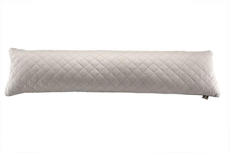 SEI Design Seitenschläferkissen »160x40 Mako-Satin taupe«, Schwangerschaftskissen