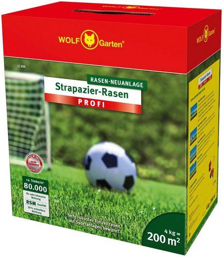 WOLF-Garten Rasensamen »LJ 200 Strapazier-Rasen PROFI«, 4,0 kg