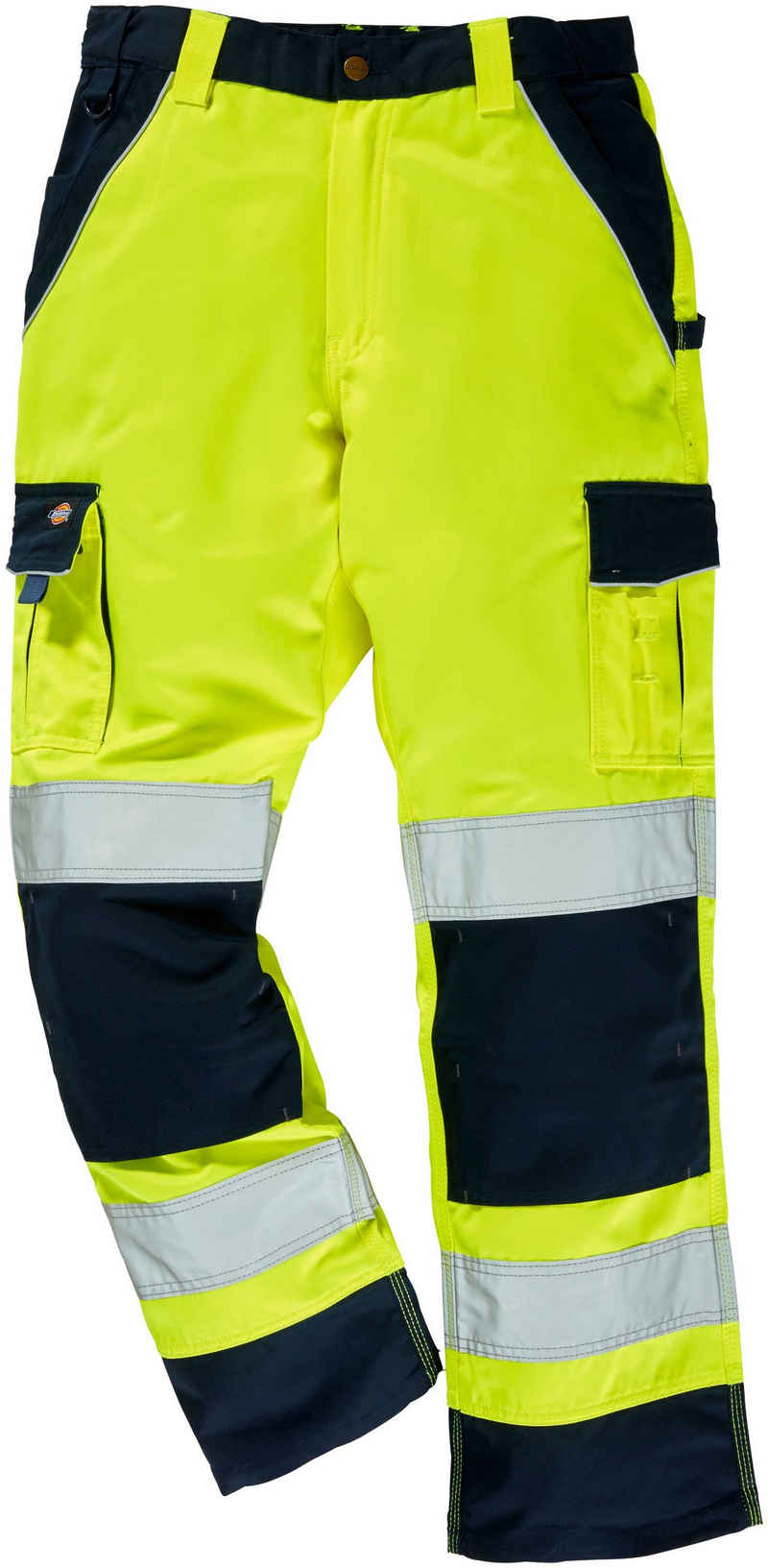 Dickies Arbeitshose »Industry High Vis« mit Kniepolstertaschen