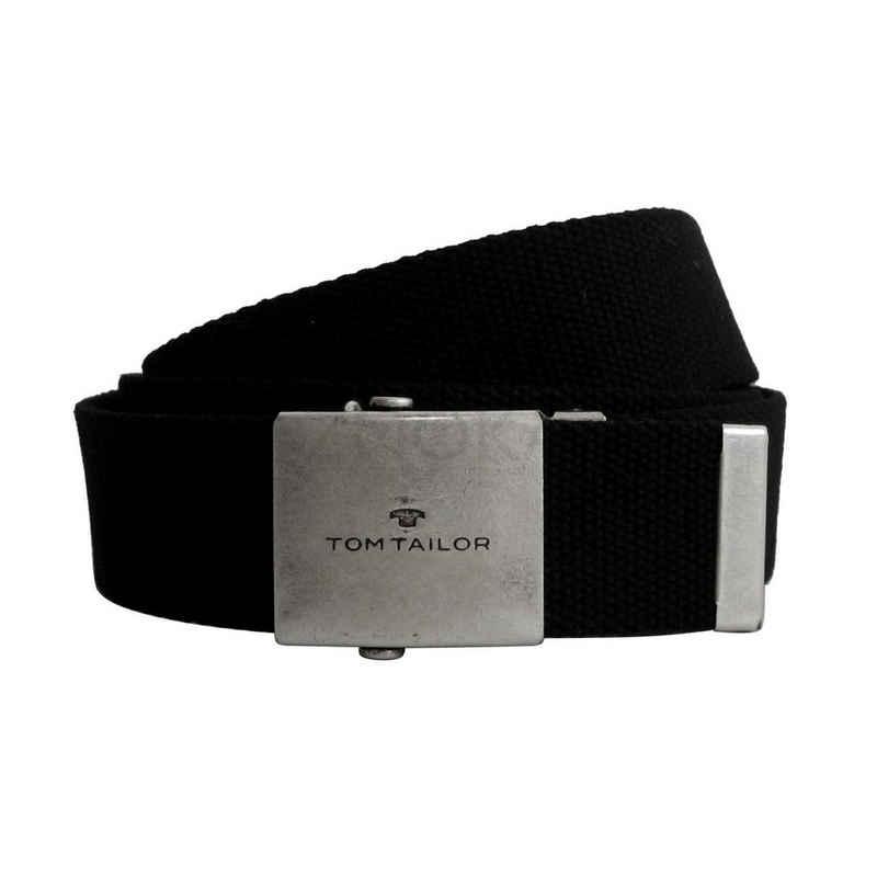 TOM TAILOR Stoffgürtel »Tom Tailor - robuster Nylon Damen Herren Gürtel«