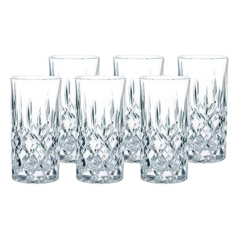 Nachtmann Longdrinkglas »Noblesse Longdrinkgläser 6er Set«, Glas