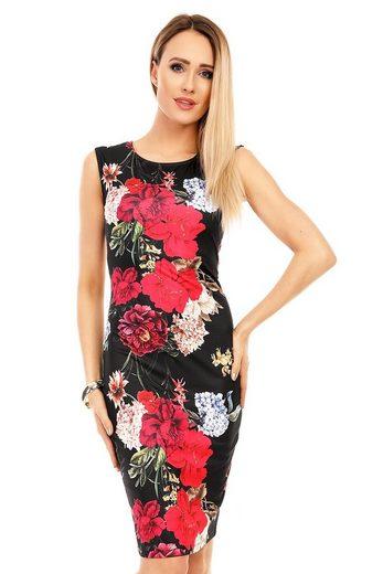 "Charis Moda Etuikleid »""Botanica"" Kleid ärmellos im Asia Flowerprint«"
