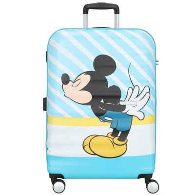 American Tourister® Hartschalen-Trolley »Wavebreaker«, 4 Rollen, ABS