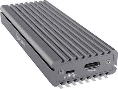 Raidsonic »ICY BOX Externes Type-C Gehäuse für M.2 NVMe SSD« Computer-Adapter