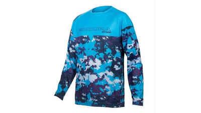 Endura Radtrikot »MT500 JR Langarmtrikot blau«