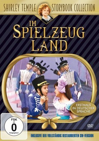 DVD »Shirley Temple - Im Spielzeugland (Digital...«