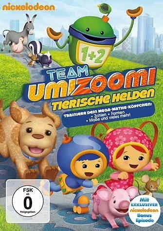 DVD »Team Umizoomi - Tierische Helden«