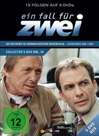 DVD »Ein Fall für Zwei - Collector's Box 14 (5 Discs)«