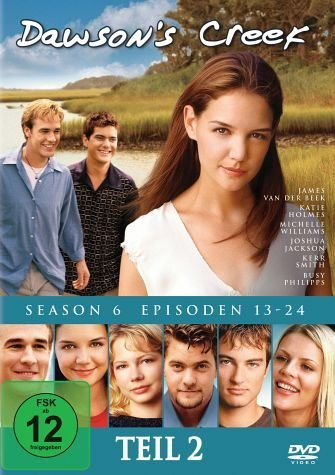 DVD »Dawson's Creek - Season 6, Vol.2 (3 Discs)«