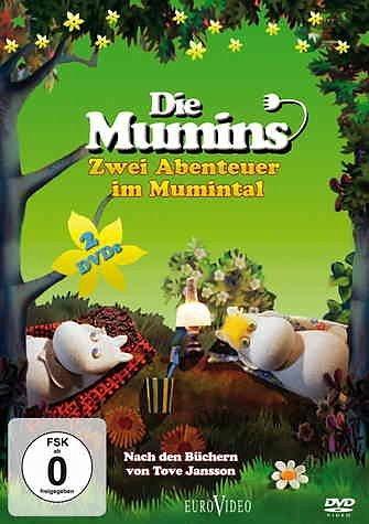 DVD »Die Mumins - Zwei Abenteuer im Mumintal (2 Discs)«