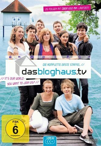 DVD »dasbloghaus.tv - Staffel 1 (3 Discs)«