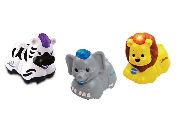 VTech Tiere-Set, »Tip Tap Baby Tiere« (3tlg.).