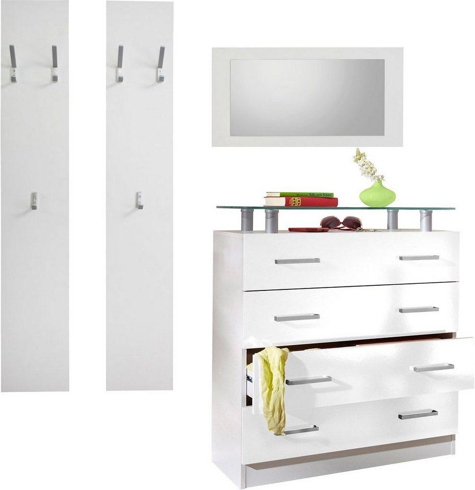 borchardt m bel garderoben set vaasa 1 3 tlg mit. Black Bedroom Furniture Sets. Home Design Ideas