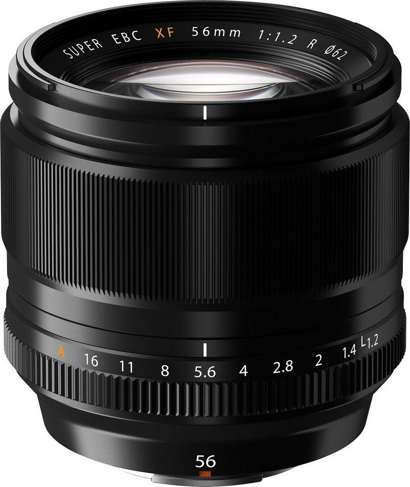 FUJIFILM FUJINON XF56mm F1.2 R Festbrennweite Objektiv in schwarz