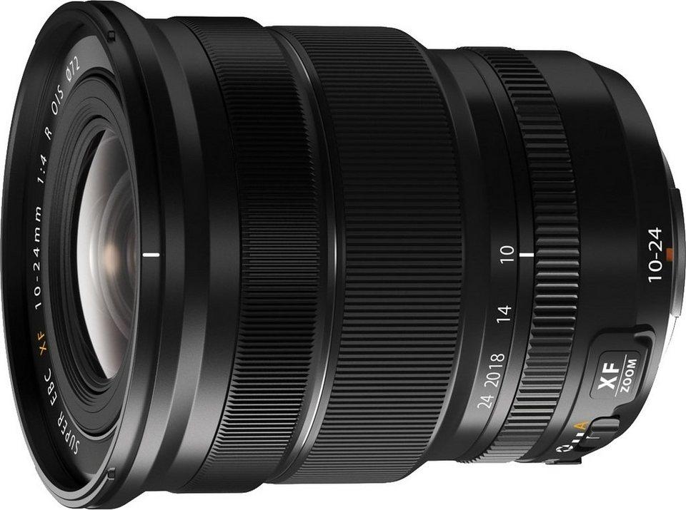 FUJIFILM FUJINON XF10-24mmF4 R OIS Ultraweitwinkel Objektiv in schwarz