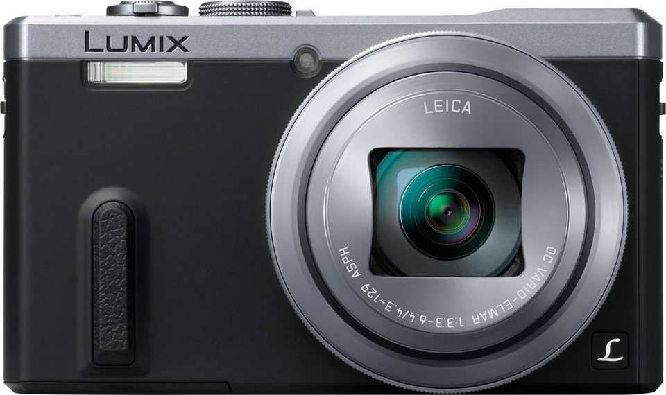 Lumix Panasonic DMC-TZ61 Super Zoom Kamera, 18,1 Megapixel, 30x opt. Zoom, 7,5 cm (3 Zoll) Display in silberfarben
