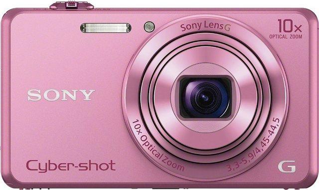 Digitalkameras - Sony »Cyber Shot DSC WX220« Superzoom Kamera (25mm Sony G, 18,2 MP, 10x opt. Zoom, WLAN (Wi Fi), 10 fach optischer Zoom)  - Onlineshop OTTO