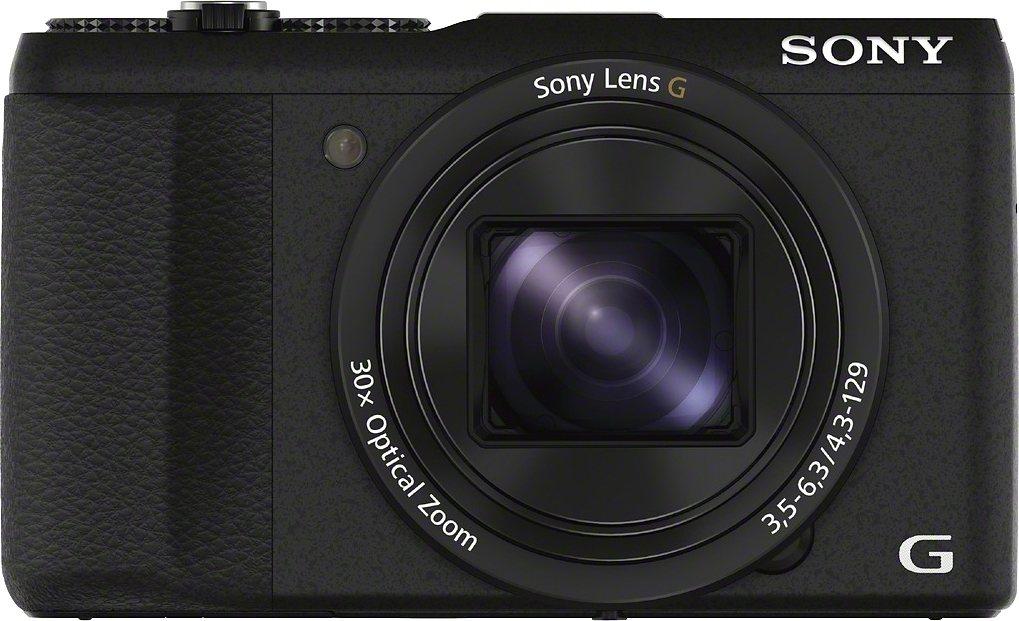 Digitalkameras - Sony »Cyber Shot DSC HX60B« Superzoom Kamera (24mm Sony G, 20,4 MP, 30x opt. Zoom, WLAN (Wi Fi), 30 fach optischer Zoom)  - Onlineshop OTTO