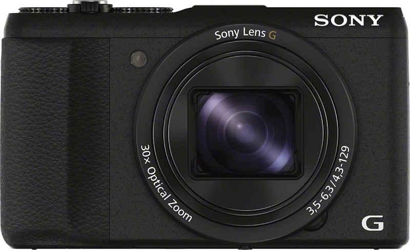 Sony »Cyber-Shot DSC-HX60B« Superzoom-Kamera (24mm Sony G, 20,4 MP, 30x opt. Zoom, WLAN (Wi-Fi), 30 fach optischer Zoom)