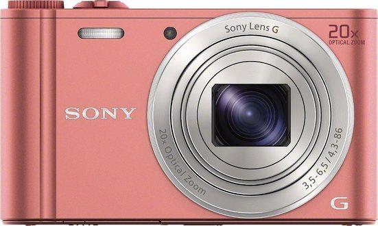 Sony »Cyber-Shot DSC-WX350« Superzoom-Kamera (25mm Sony G, 18,2 MP, 20x opt. Zoom, WLAN (Wi-Fi), 20 fach optischer Zoom)