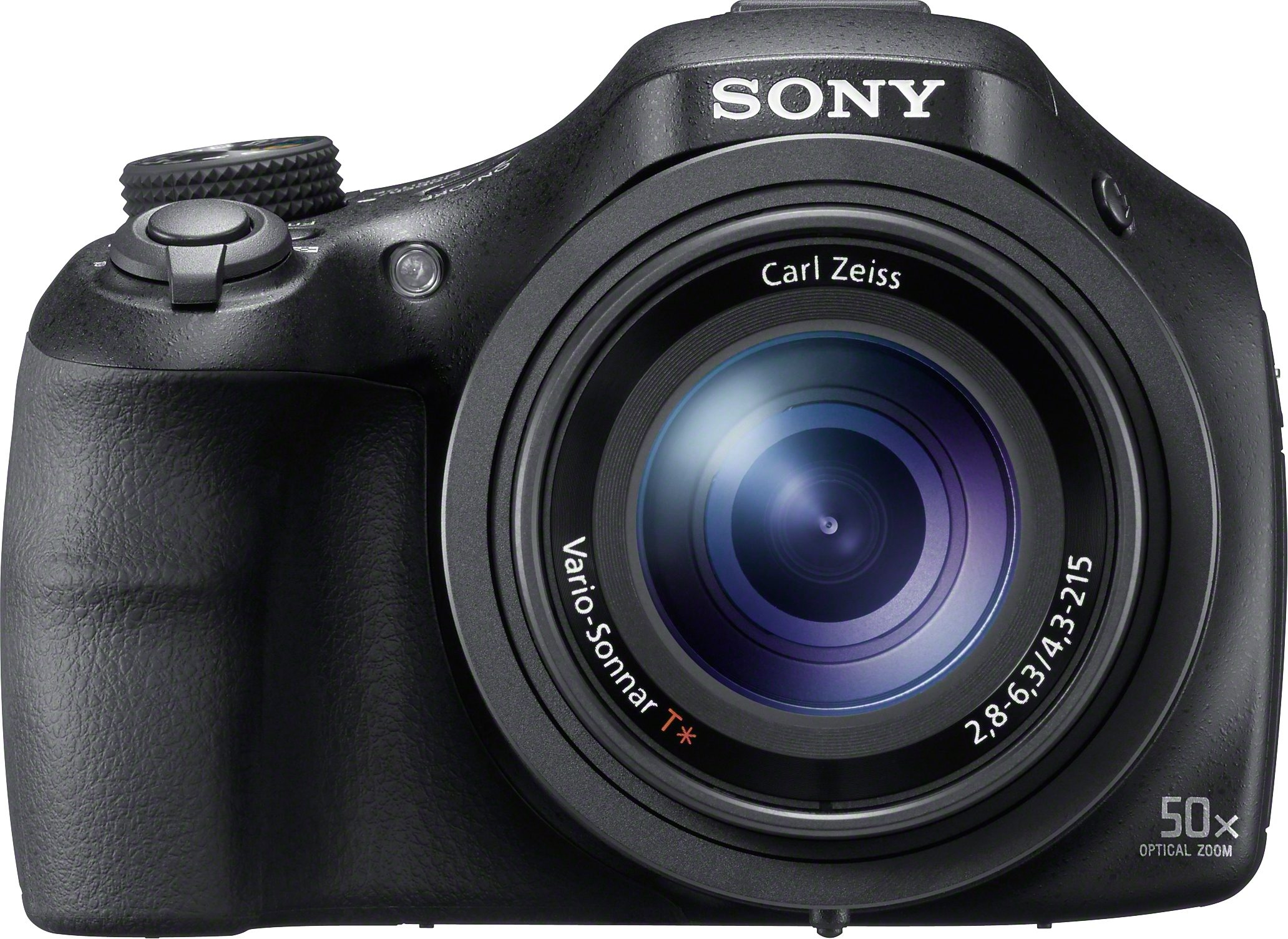 Sony Cyber-Shot DSC-HX400V Bridge Kamera, 20,4 Megapixel, 50x opt. Zoom, 7,6 cm (3 Zoll) Display