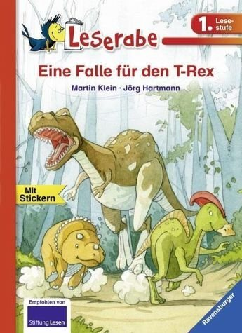 Gebundenes Buch »Eine Falle für den T-Rex«
