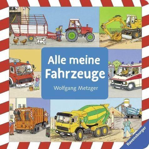 Buch mit Papp-Einband »Alle meine Fahrzeuge«