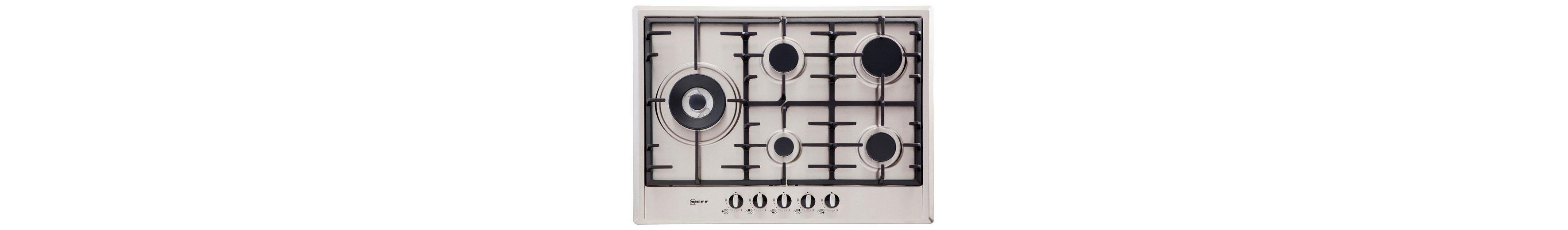 Neff Autarkes Gas-Kochfeld mit integrierten Kochstellenreglern TS 2576 N