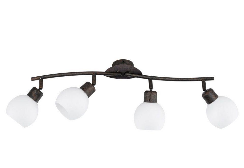 trio leuchten led deckenstrahler 4 flammig moderne deckenlampe online kaufen otto. Black Bedroom Furniture Sets. Home Design Ideas