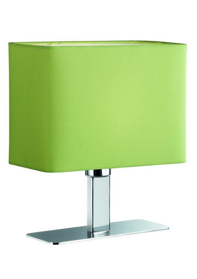 LED-Tischlampe, Trio, Höhe 22,5 cm in grün