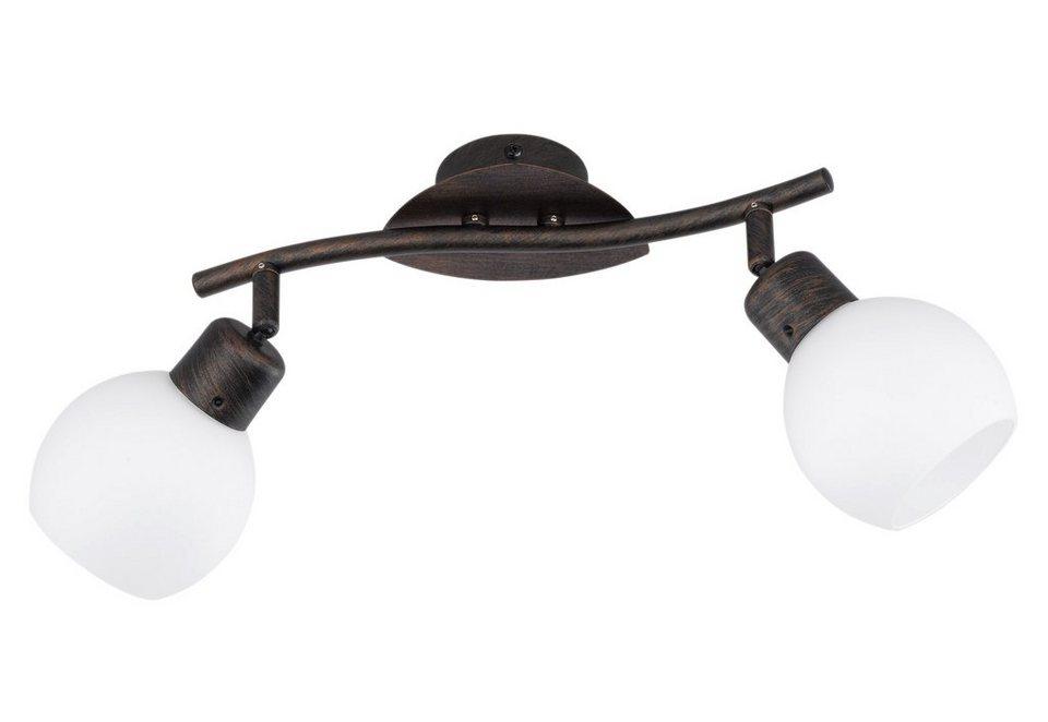 trio leuchten led deckenstrahler 2 flammig moderne deckenlampe online kaufen otto. Black Bedroom Furniture Sets. Home Design Ideas
