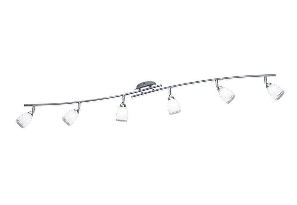 LED-Deckenlampe, Trio in silberfarben