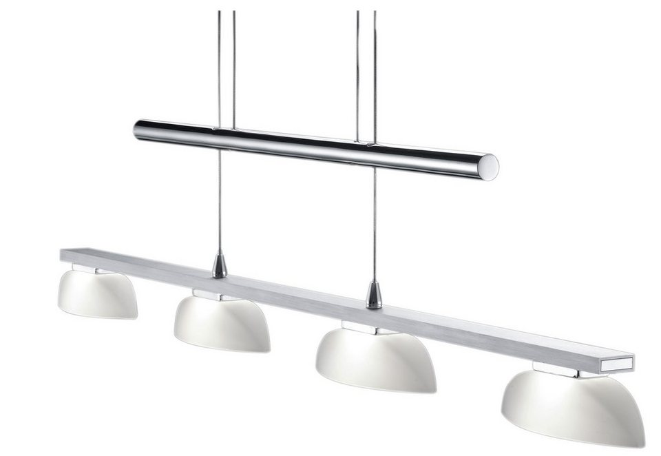 LED-Pendellampe, Trio in silberfarben