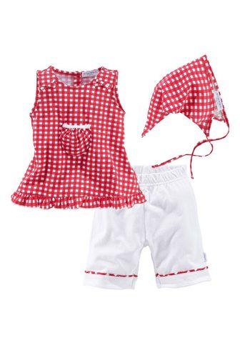 KLITZEKLEIN Suknelė kelnės & skara (Rinkinys 3 tlg...