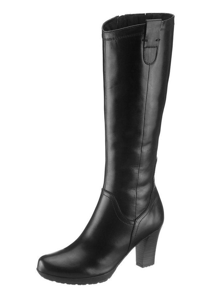 Stiefel, Tamaris, in 3 Schaftweiten in schwarz