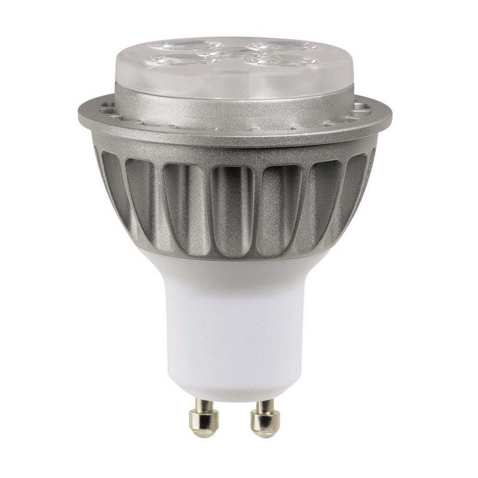 Xavax LED-Reflektorlampe, 7W, GU10, PAR16, dimmbar, Warmweiß in Grau