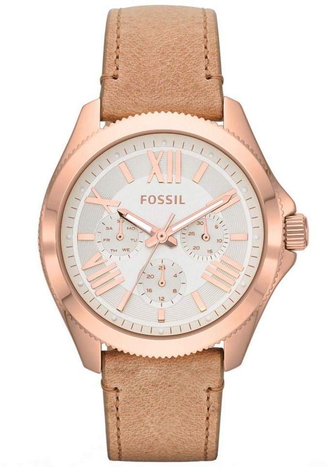 Fossil Multifunktionsuhr »CECILE, AM4532« in sand
