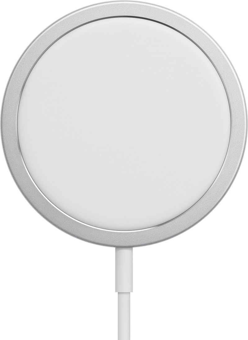 Apple »MagSafe Strom Adapter« Wireless Charger (Kompatibilität: iPhone 12 Pro iPhone 12 Pro Max iPhone 12 mini iPhone 12 iPhone 11 Pro iPhone 11 Pro Max iPhone 11 iPhone SE (2nd generation) iPhone XS iPhone XS Max iPhone XR iPhone X iPhone 8 iPhone 8 Plus AirPods Pro AirPods with Wireless Charging Case (2nd generation) Wireless Charging Case for AirPods)